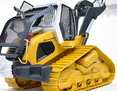 Concept Demolition Crawler Loader