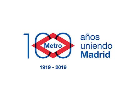 Concurso Logotipo Centenario Metro de Madrid