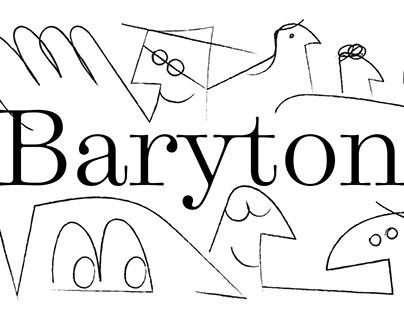 Baryton | Retail Typeface