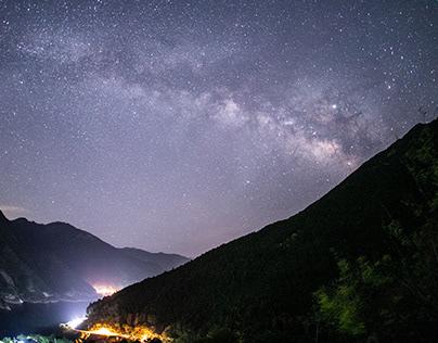 星景タイムラプス 奈良県・川上村