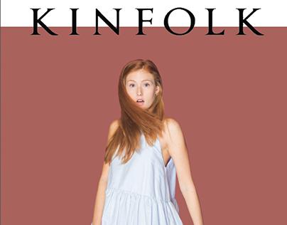 Mock Kinfolk Magazine