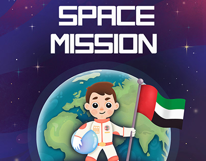 Space Mission (Personalized children book)