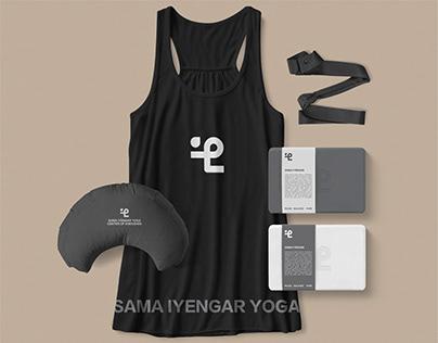 SAMA Yoga Branding