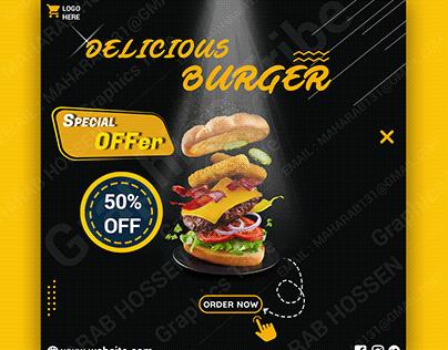 Social Media Banner - Food Ads