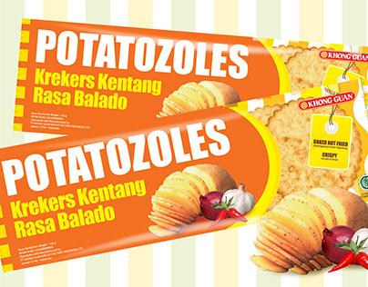 Packaging Design - Potatozoles Khong Guan