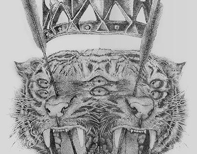 Pencil drawing X