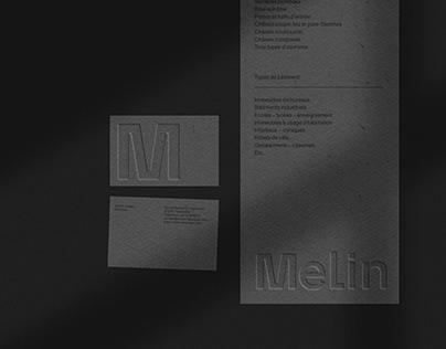 Melin visual identity