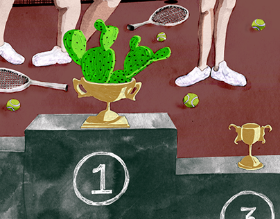 Theatre Illustration: Courting the Cactus Trophy