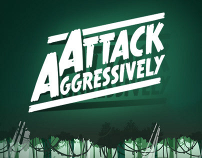 Attack Aggressively Game (Work in Progress).