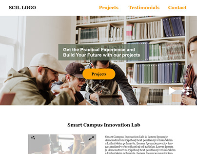 Prototype for SCIL Landing page (Thesis project)