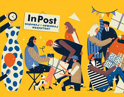 InPost - ILLUSTRATION