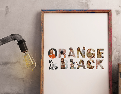 ORANGE IS THE NEW BLACK | LETTERING