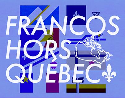 Francos hors Québec: vidéo sur le français au Canada