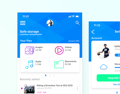 Cloud Storage App