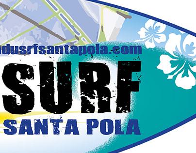 Reformat Logo Club WindSurf Santa Pola Alicante Spain