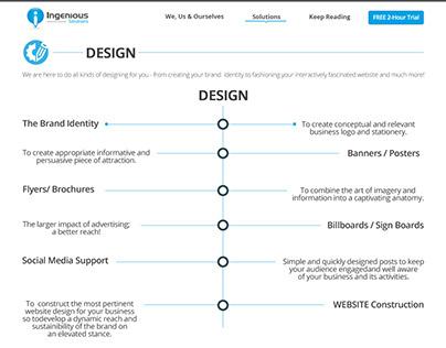 Web Template Design 4