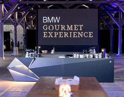 BMW - Gourmet Experience - Show Cooking counter