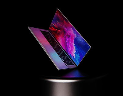 NeckBook-Adjustable monitor Labtop