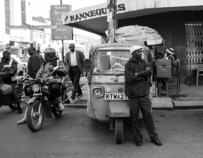 The streets of urban Africa