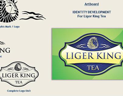 LIGER KING Tea - Identity Design