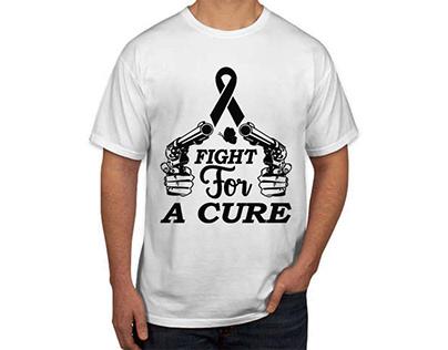 Fight For A Curet T shirt design