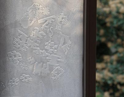 ''Textile partition wall''/ ''Tekstilni pregradni zid''