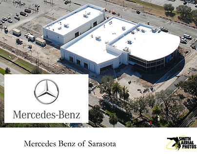180 TONS - Mercedes Benz of Sarasota, Florida