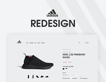 Adidas Redesign Web