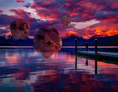 Catching dreams - Adobe Dimension CC project