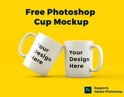 Free Photoshop Cup Mockup