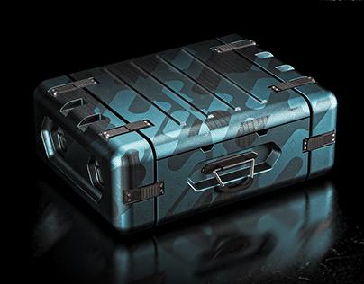 Sci-Fi Ammo Crate Design 2021