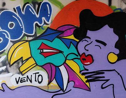 Bom Vento   Graffiti