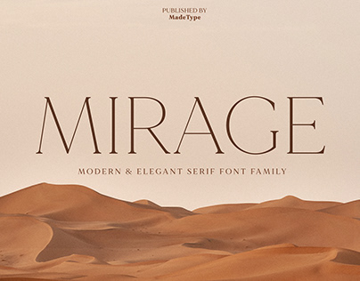MADE Mirage | Font