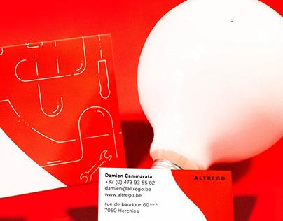 Altrego - Brand identity