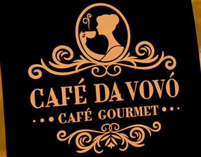 Café da vovó - café gourmet (marca e embalagem)
