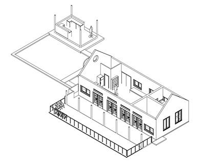 Levantamiento Casa Pamaduih