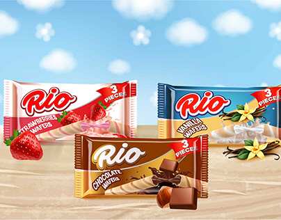 Wafers Rio - Packaging
