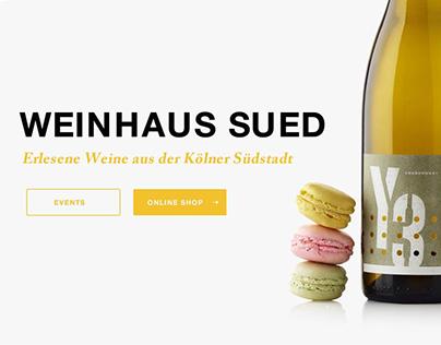 Entwurf für einen Weinhändler