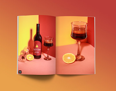 Woolworths Gluhwein - Product Photography