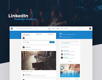 LinkedIn - Redesign Concept