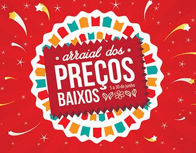 Superdecor Retail's Arraial dos Preços Baixos campaign