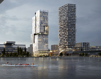 Donaumarina Tower | Design by Snøhetta