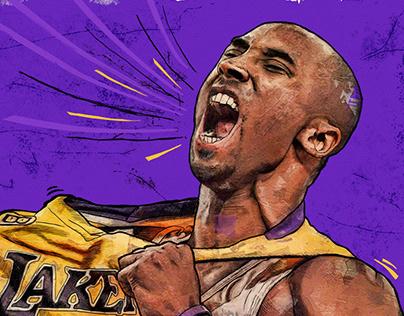 """""""Black Mamba"""" Tribute to Kobe."""