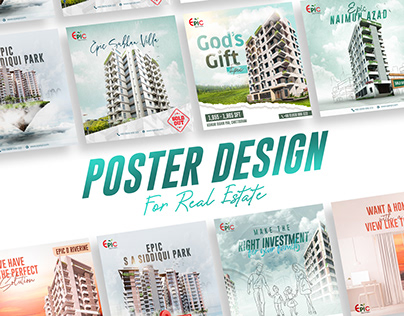 Social Media Poster Design For Real Estate Company