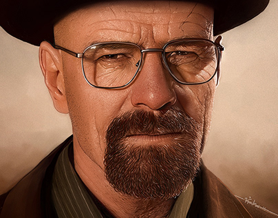 Walter White l Breaking Bad l Digital painting