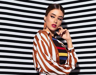 Fashion stripes - Retouch