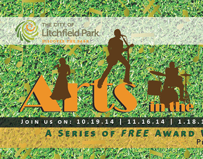 Award Winning - Event Brochure - Art in the Park