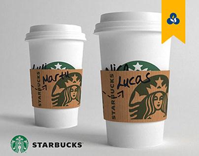 Starbucks - Café por la identidad.