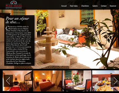 Riad Inaka Web site