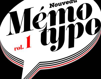 Nouveau Mémo Typo vol. 1